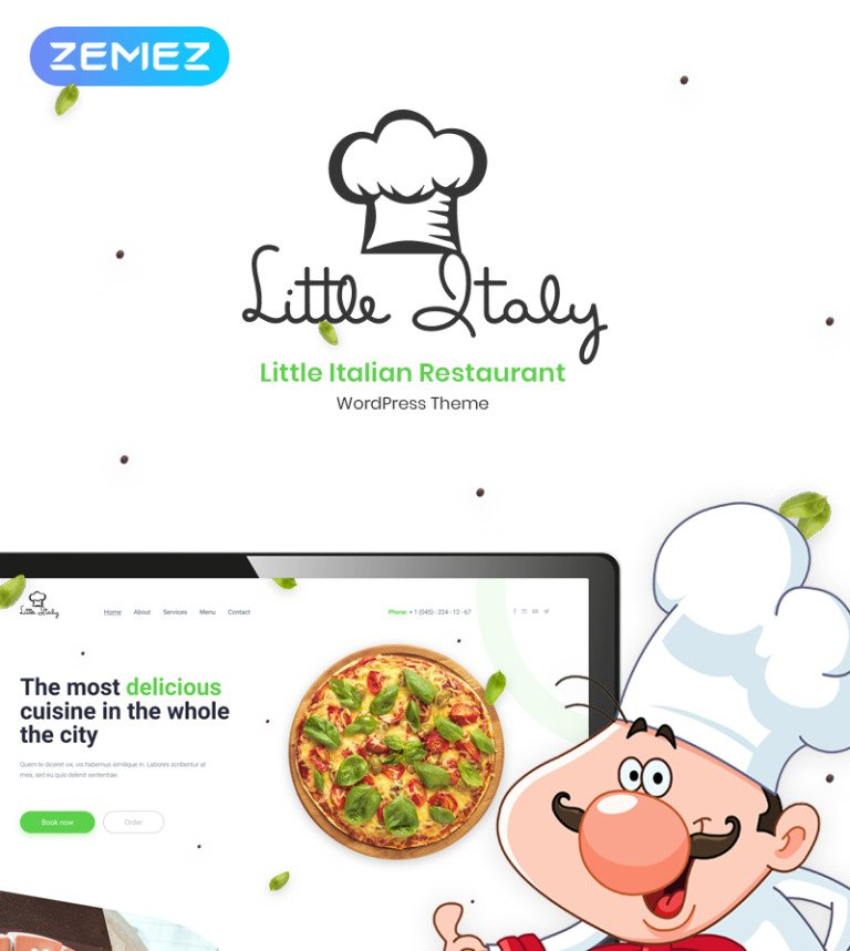 16 Restaurant WordPress Themes & Templates