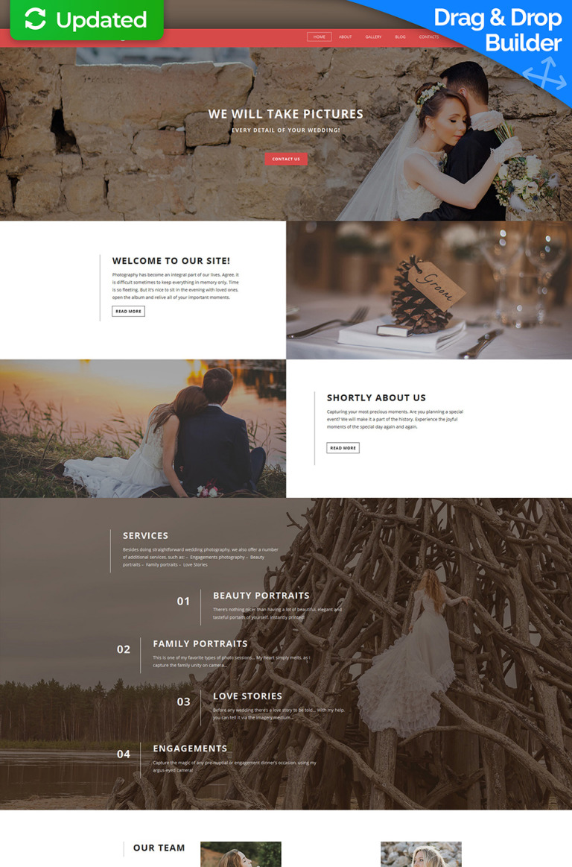 Photographer Portfolio Responsive Photo Gallery Template New Screenshots BIG