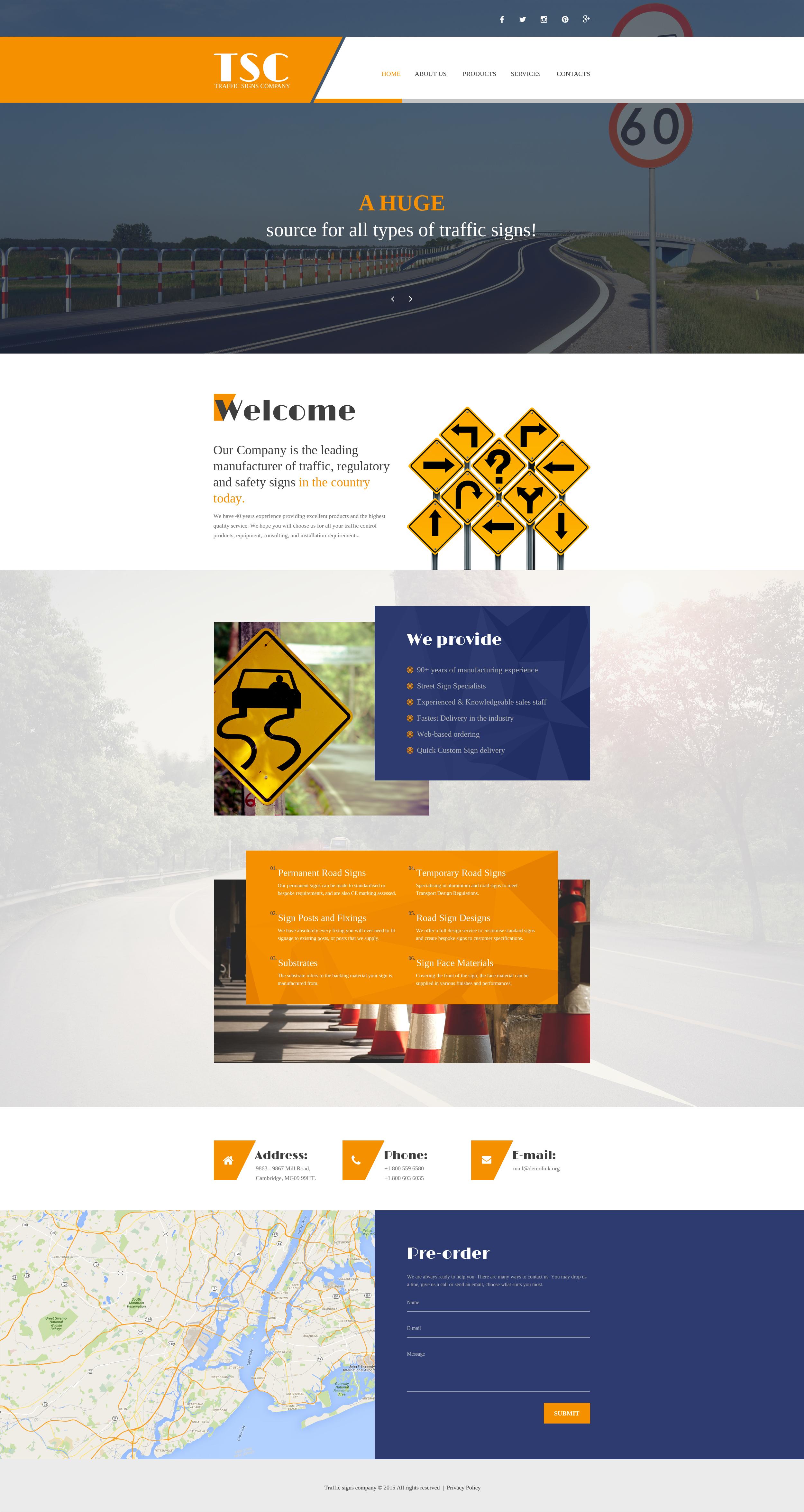 Website Vorlage #56039 für Fahrschule