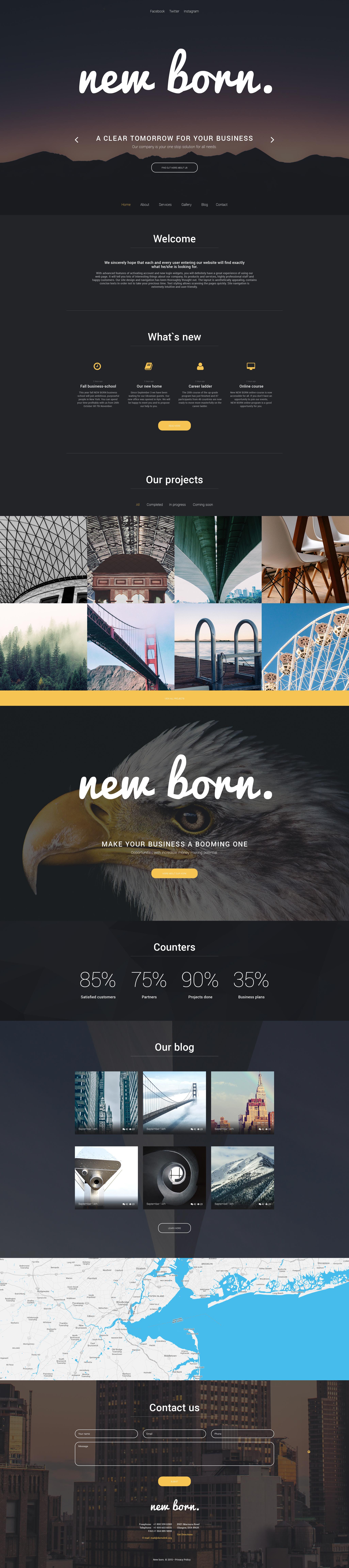 Responsywny motyw WordPress Business Agent #56024 - zrzut ekranu