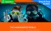 Responzivní Moto CMS 3 šablona na téma Potápění New Screenshots BIG
