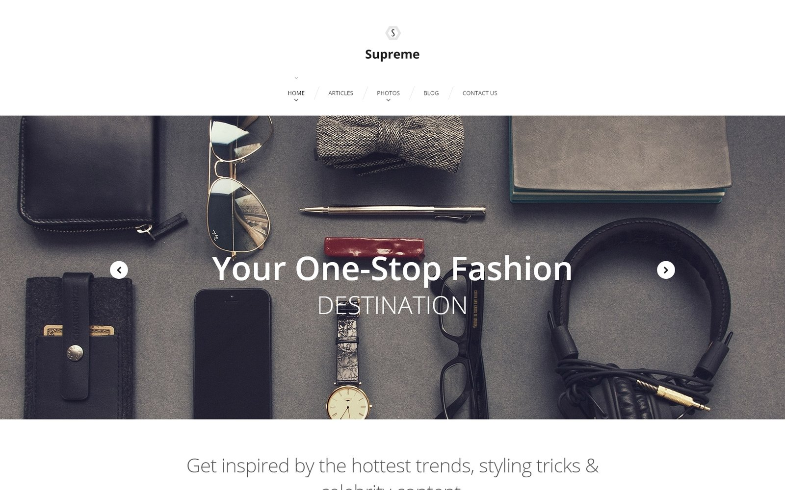 Supreme Tema WordPress №56019 - captura de tela