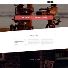 drupal themes video gallery