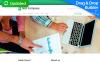 Responsivt Moto CMS 3-mall för maknadsföringsbyrå New Screenshots BIG