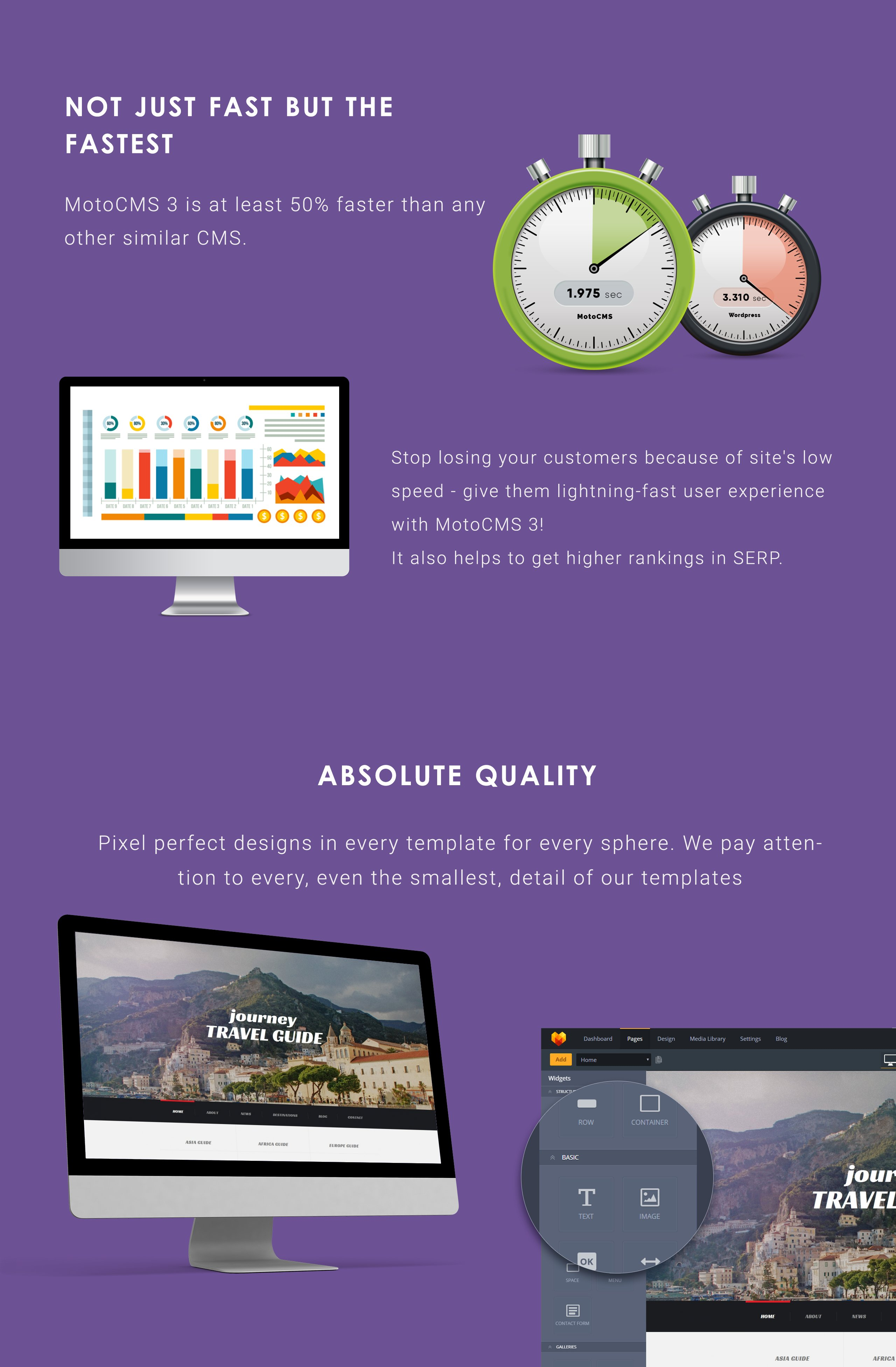 Journey - Travel Agency Moto CMS 3 Template
