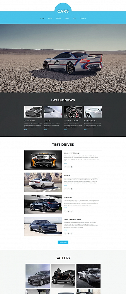 ADOBE Photoshop Template 56106 Home Page Screenshot