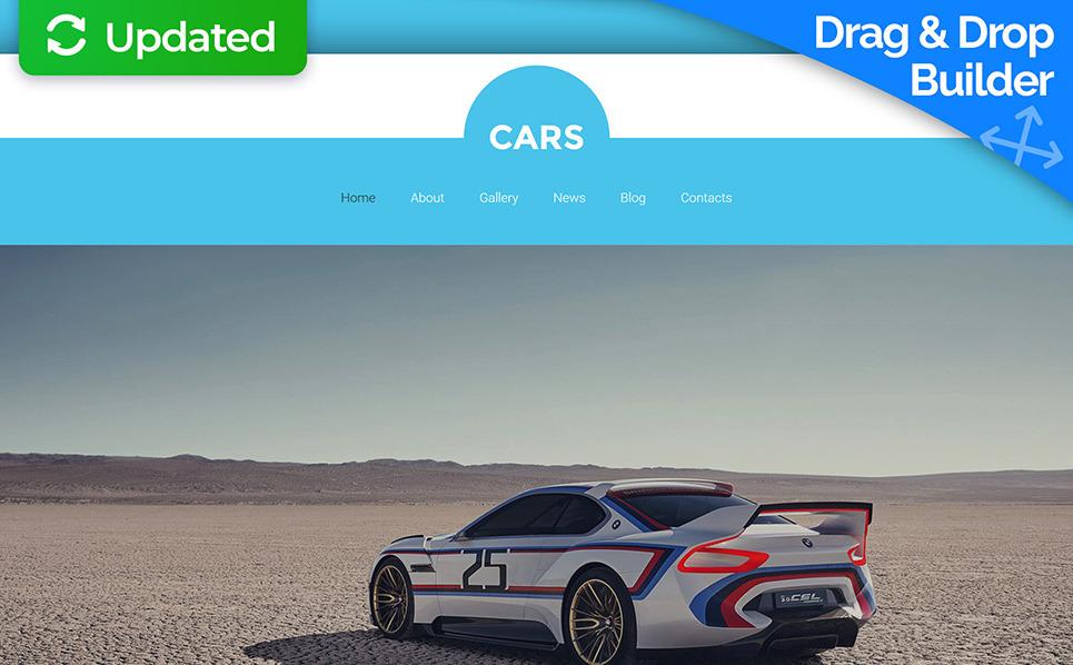 Reszponzív Autóklubbok Moto CMS 3 sablon New Screenshots BIG