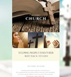 Religious Newsletter  Template 56107