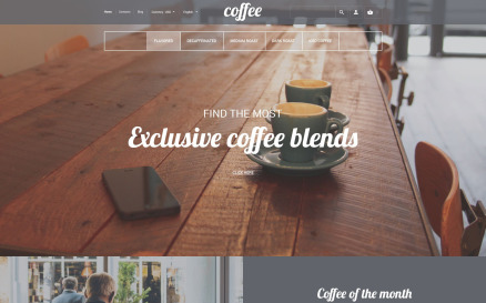 Coffee House PrestaShop Theme