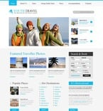Travel PSD  Template 56113