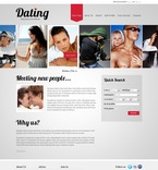 Dating PSD  Template 56116