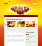 Food & Drink PSD  Template 56117