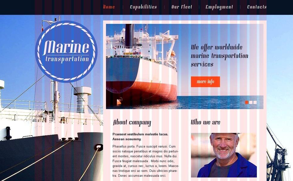PSD šablona Námořní šablony New Screenshots BIG