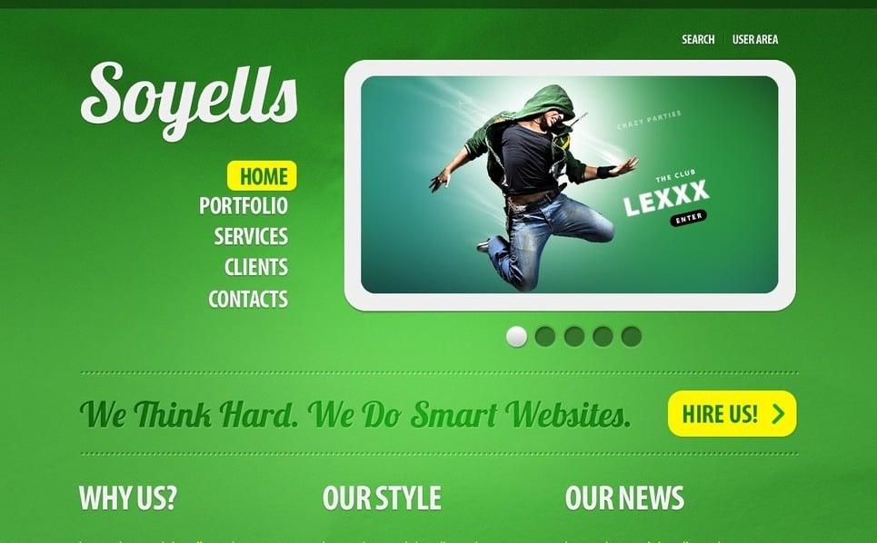 Szablon PSD #56125 na temat: web design New Screenshots BIG