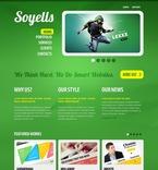Web design PSD  Template 56125