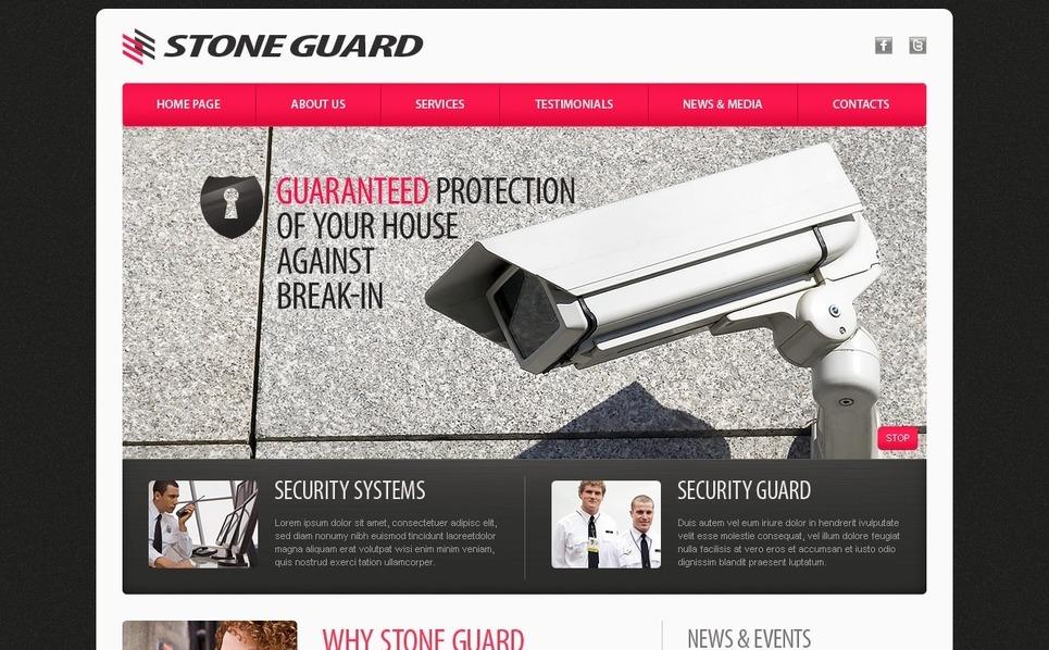 PSD Vorlage für Sicherheitsdienst  New Screenshots BIG