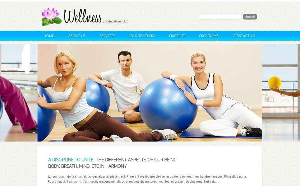 Template PSD  #56134 per Un Sito di Fitness New Screenshots BIG