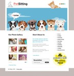 Animals & Pets PSD  Template 56135