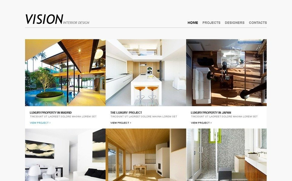 Interior Design PSD Template New Screenshots BIG