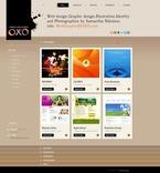 Web design PSD  Template 56152