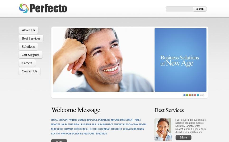 Template PSD  #56173 per Un Sito di Business e Servizi New Screenshots BIG