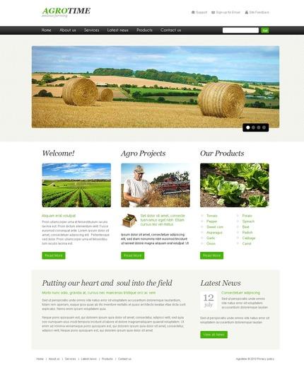 PSD макет сайта №56175