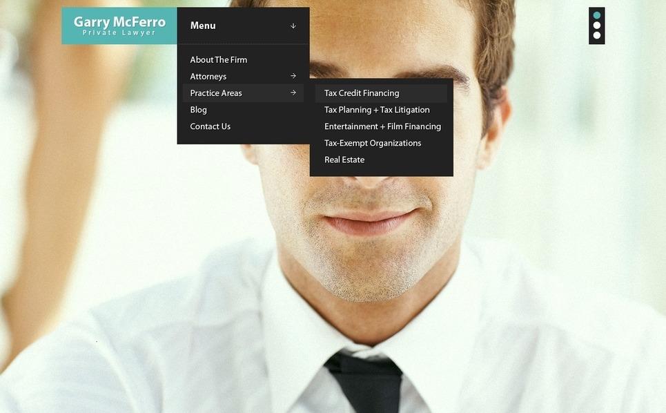 Ügyvédek PSD sablon New Screenshots BIG