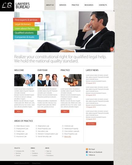 PSD макет сайта №56182