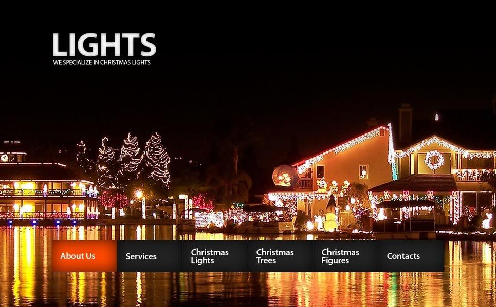 Szablon PSD #56194 na temat: Boże Narodzenie New Screenshots BIG