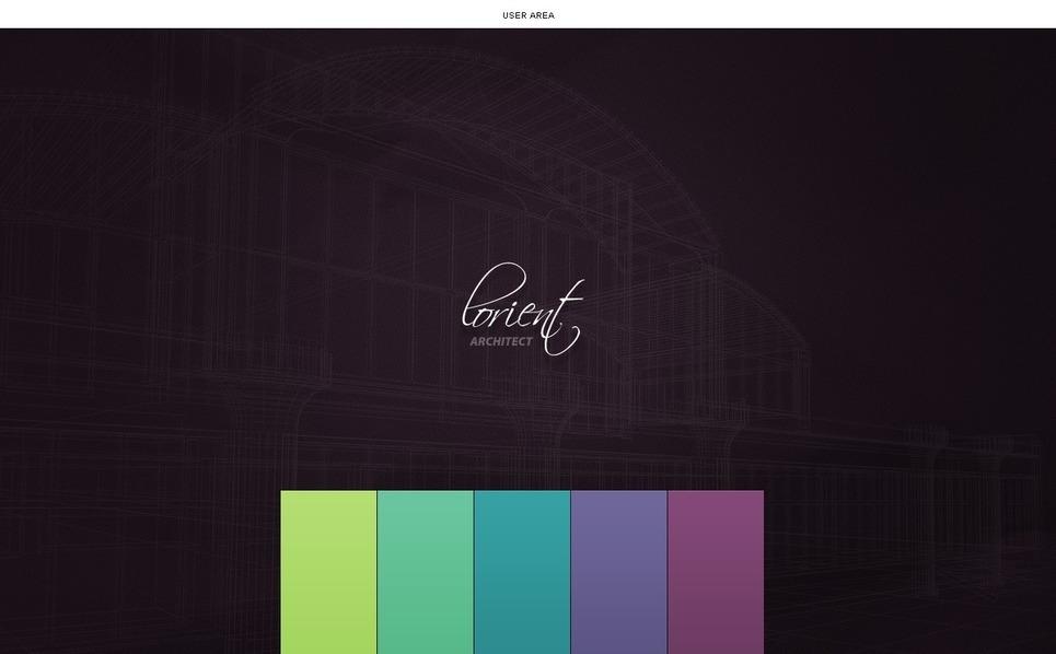 Mimarlık Psd Şablon New Screenshots BIG