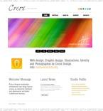 Web design PSD  Template 56196