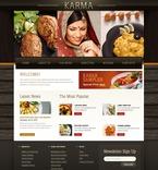 Cafe & Restaurant PSD  Template 56197