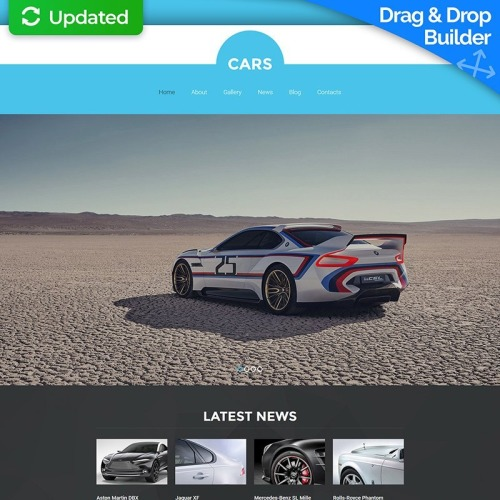 Cars - MotoCMS 3 Template based on Bootstrap