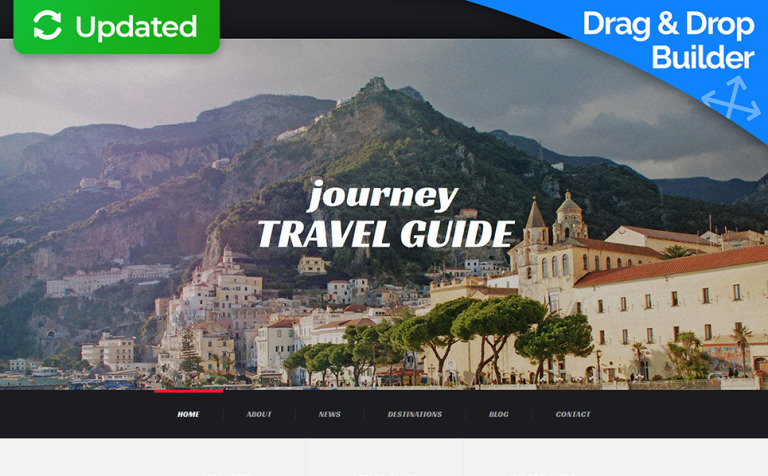17 Travel Website Themes & Templates