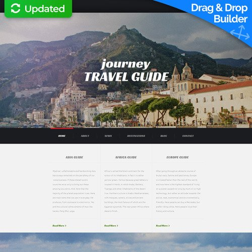 Journey Travel Guide - Travel Agency Template based on Bootstrap