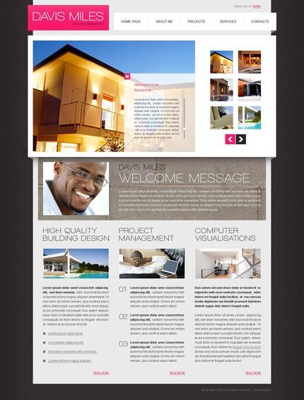 PSD макет сайта №56211