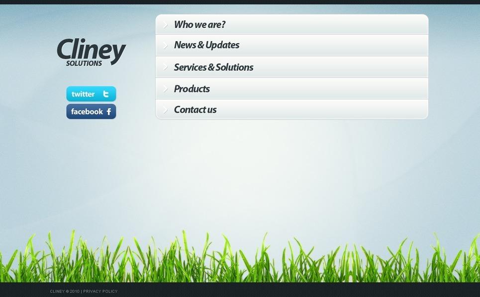 PSD шаблон №56214 на тему бизнес и услуги New Screenshots BIG