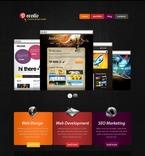 Web design PSD  Template 56218