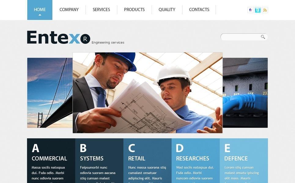 PSD Vorlage für Baufirma  New Screenshots BIG