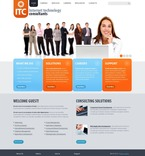 Communications PSD  Template 56237