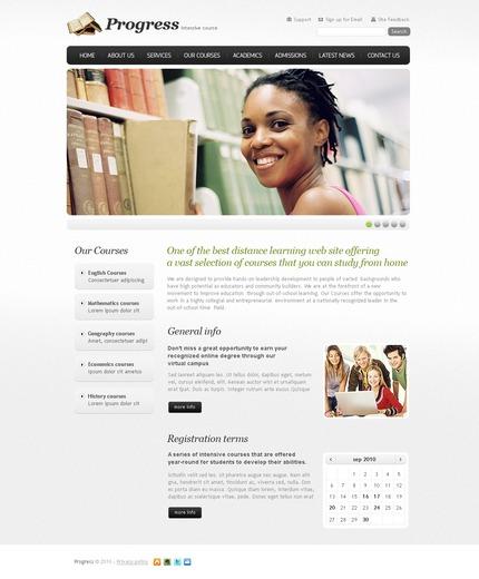 PSD макет сайта №56250