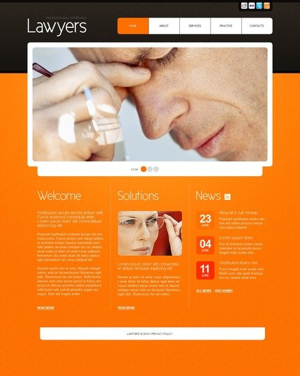 Website Template #56254