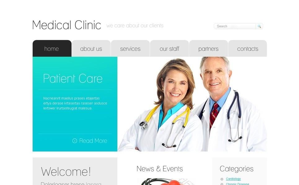 PSD Template over Medische New Screenshots BIG