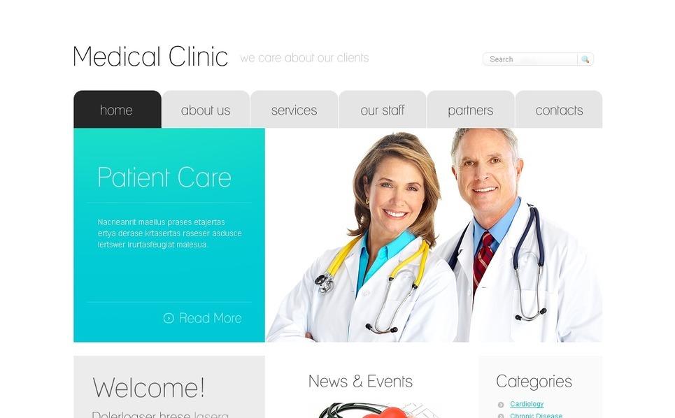 Medikal lar Psd Şablon New Screenshots BIG
