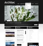 Architecture PSD  Template 56278