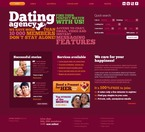 Dating PSD  Template 56285