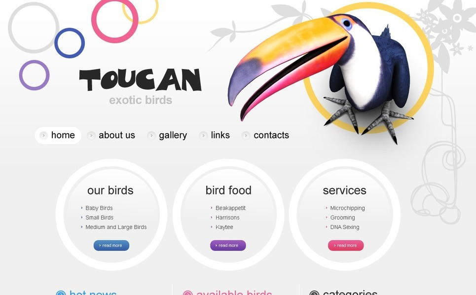 PSD Vorlage für Vögel  New Screenshots BIG