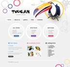 Animals & Pets PSD  Template 56299