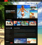 Travel PSD  Template 56302