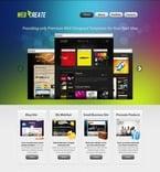 Web design PSD  Template 56303